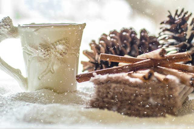 冬の珈琲カップ