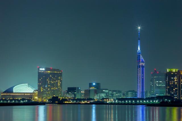 福岡博多の夜景